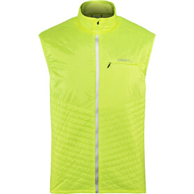 Craft Urban Run Gilet da corsa Uomo giallo